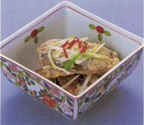 ミガキニシンの南蛮煮