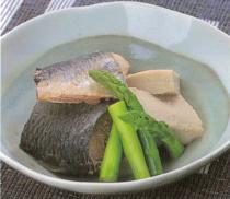 ニシンと高野豆腐の炊き合わせ