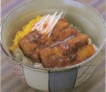 ミガキニシンの蒲焼き丼